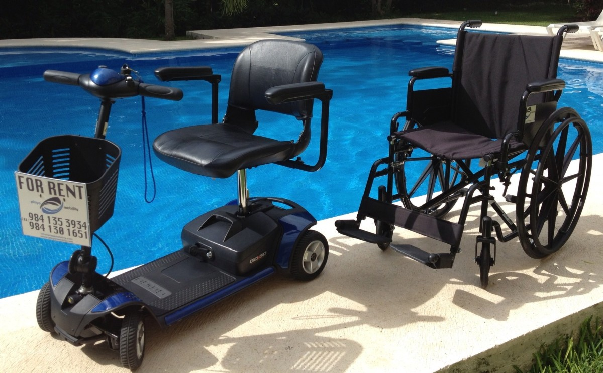 Mobility scooters and  wheelchair rental - Mayan Riviera